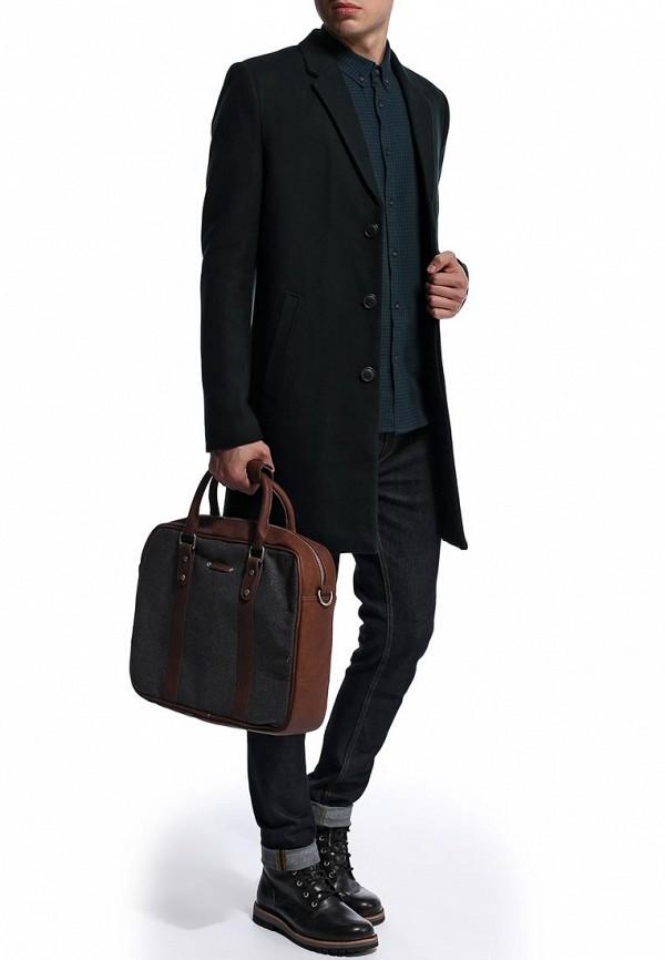 Мужские пальто Burton Menswear London 06W05DGRN: изображение 4