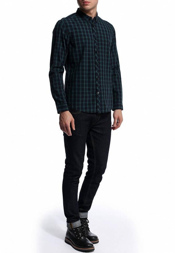 Рубашка с длинным рукавом Burton Menswear London 22B01FGRN: изображение 2