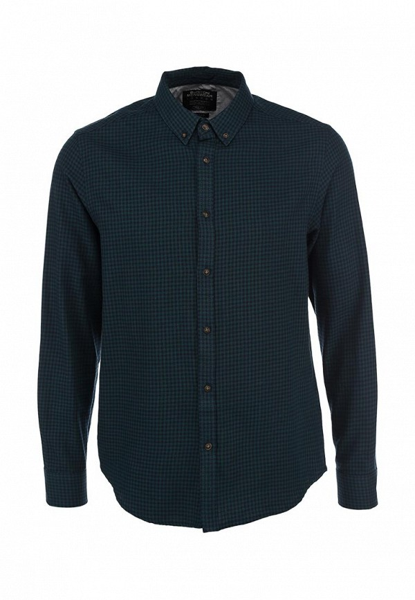 Рубашка с длинным рукавом Burton Menswear London 22G01FGRN: изображение 1