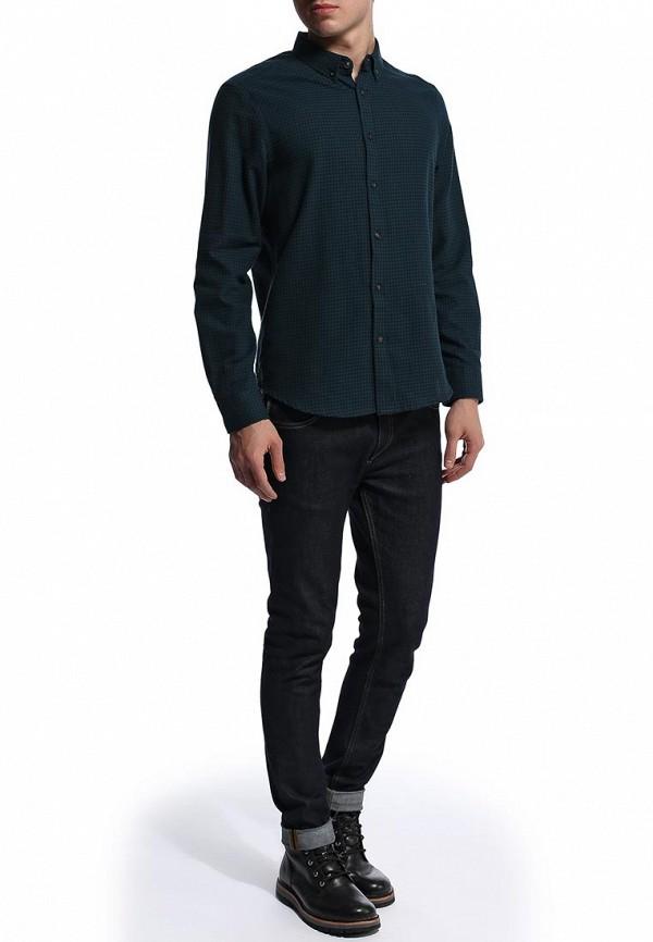 Рубашка с длинным рукавом Burton Menswear London 22G01FGRN: изображение 3