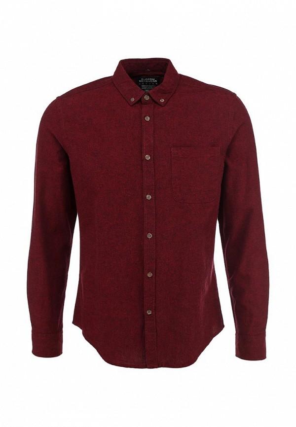 Рубашка с длинным рукавом Burton Menswear London 22O04FRED: изображение 1