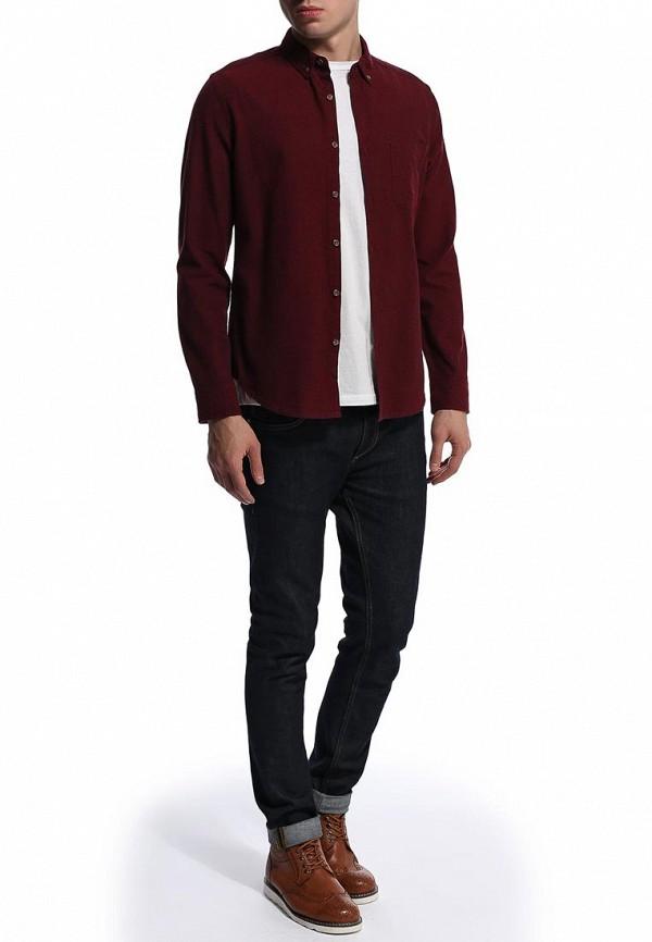 Рубашка с длинным рукавом Burton Menswear London 22O04FRED: изображение 3