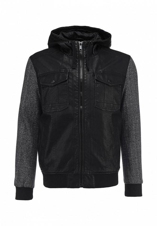 Кожаная куртка Burton Menswear London 06B04DBLK: изображение 1