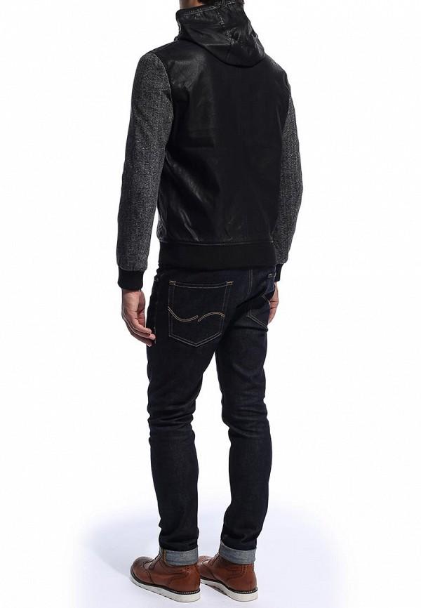 Кожаная куртка Burton Menswear London 06B04DBLK: изображение 3