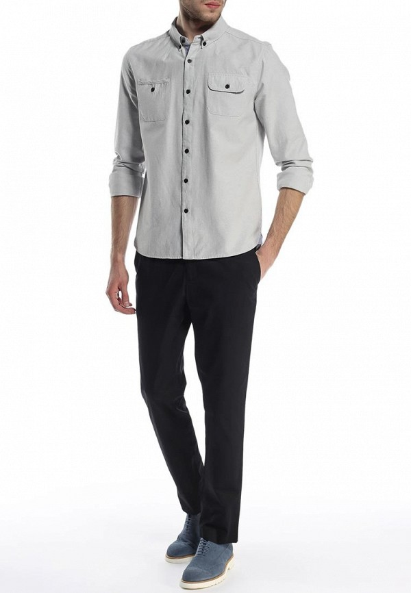 Мужские повседневные брюки Burton Menswear London 05K02FBLK: изображение 3