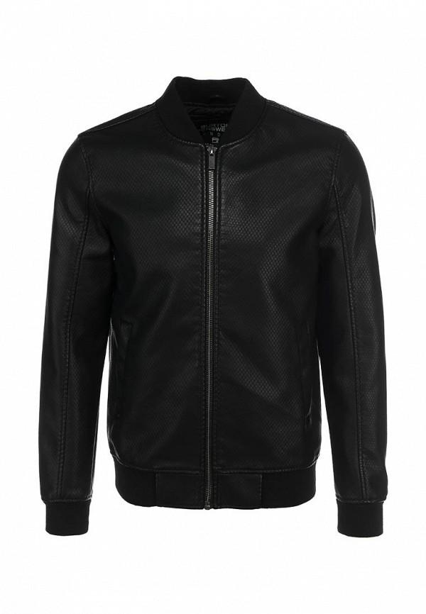 Кожаная куртка Burton Menswear London 06L02GBLK: изображение 2