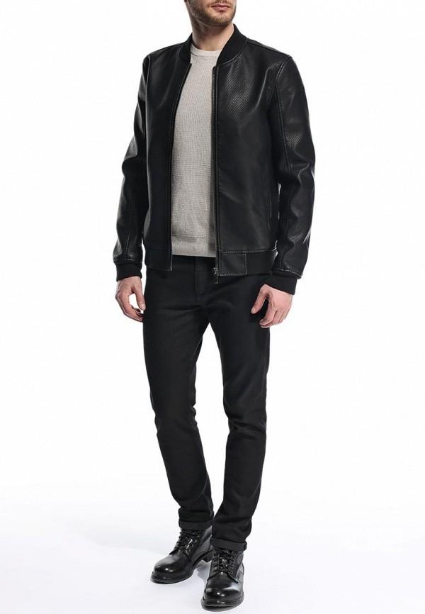 Кожаная куртка Burton Menswear London 06L02GBLK: изображение 4
