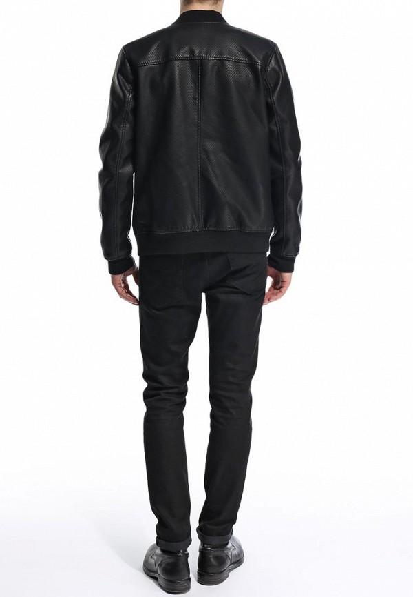 Кожаная куртка Burton Menswear London 06L02GBLK: изображение 5