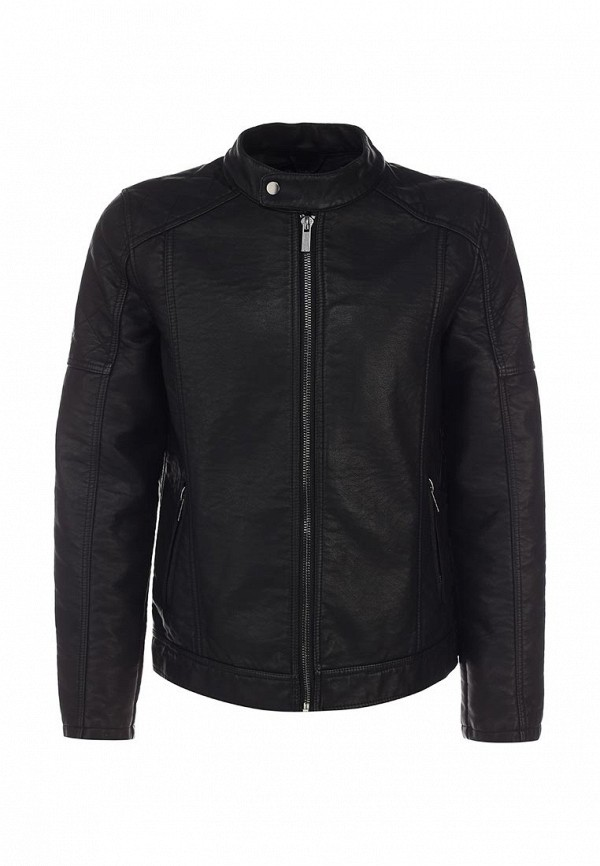 Кожаная куртка Burton Menswear London 06L03GBLK: изображение 1
