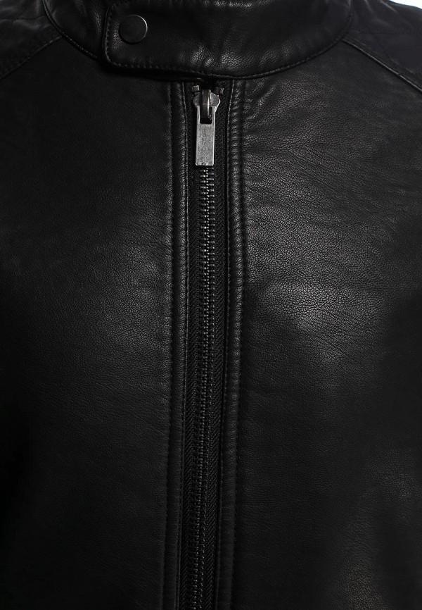 Кожаная куртка Burton Menswear London 06L03GBLK: изображение 3