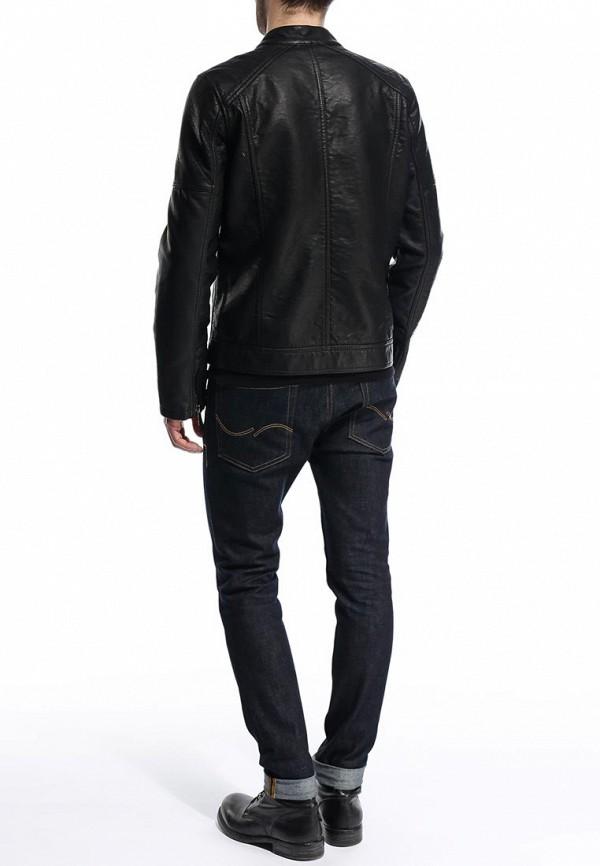 Кожаная куртка Burton Menswear London 06L03GBLK: изображение 5