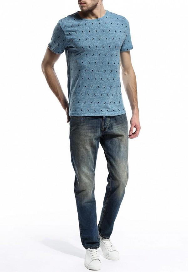 Зауженные джинсы Burton Menswear London 12A09FBLU: изображение 8