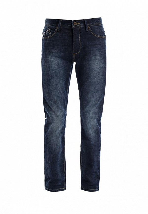 Мужские прямые джинсы Burton Menswear London 12P01FBLU: изображение 1