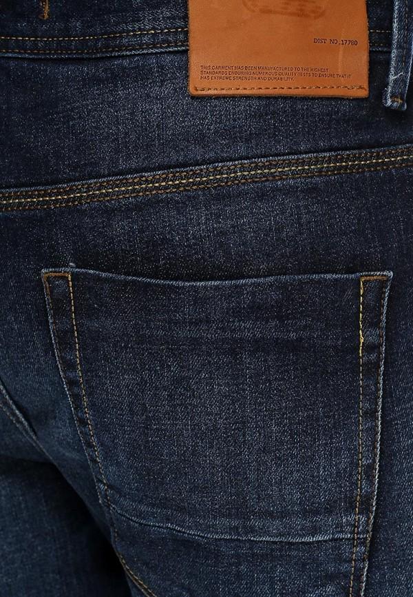 Мужские прямые джинсы Burton Menswear London 12P01FBLU: изображение 2