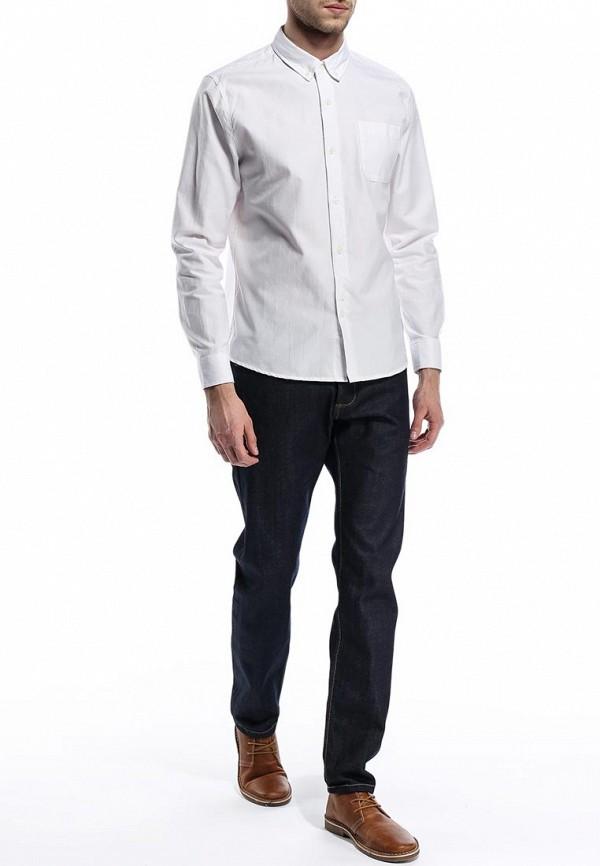 Мужские прямые джинсы Burton Menswear London 12P03FBLU: изображение 3