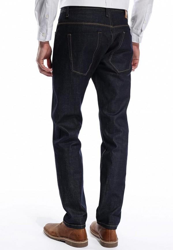 Мужские прямые джинсы Burton Menswear London 12P03FBLU: изображение 4