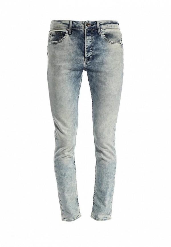 Зауженные джинсы Burton Menswear London 12S03FBLU: изображение 1