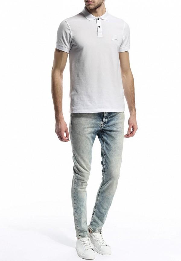 Зауженные джинсы Burton Menswear London 12S03FBLU: изображение 3