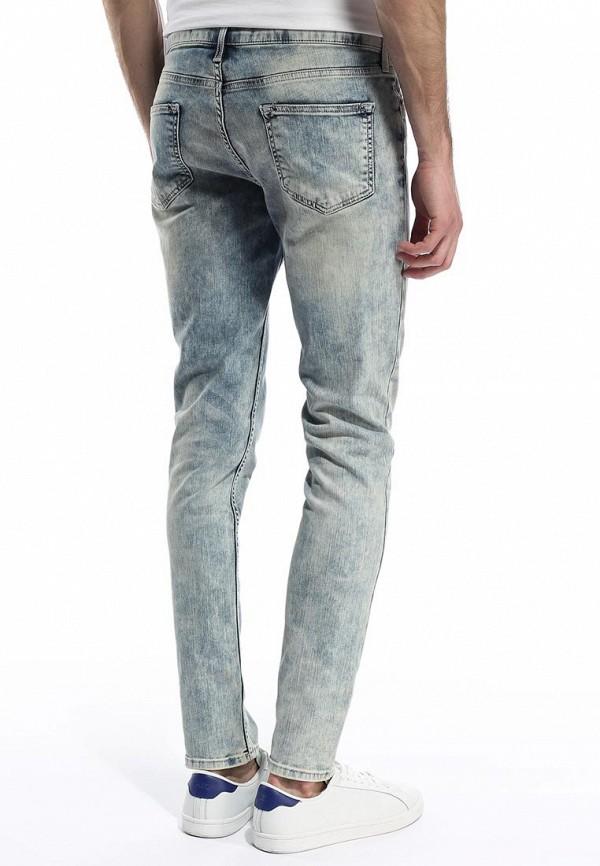 Зауженные джинсы Burton Menswear London 12S03FBLU: изображение 4