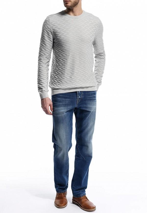Мужские прямые джинсы Burton Menswear London 12T04FBLU: изображение 3