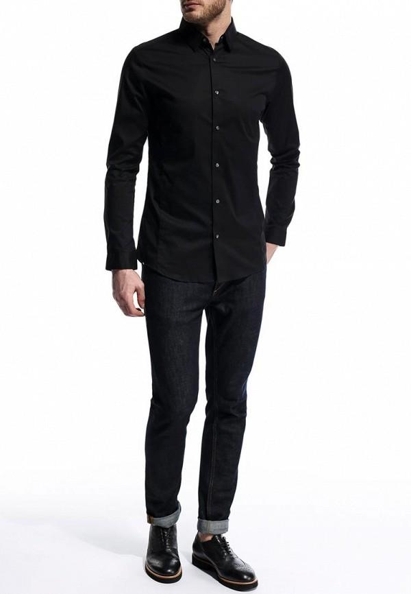 Рубашка с длинным рукавом Burton Menswear London 19B01GBLK: изображение 4