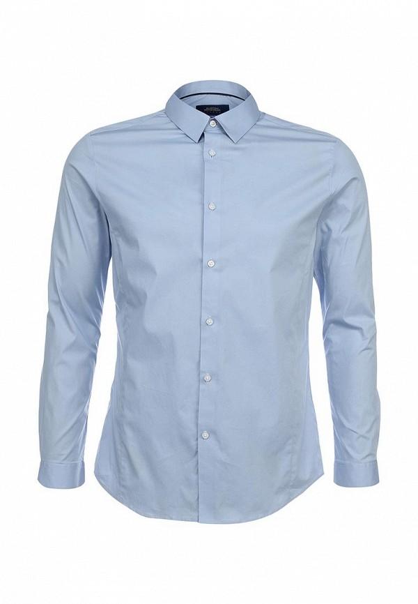 Рубашка с длинным рукавом Burton Menswear London 19B01GBLU: изображение 1