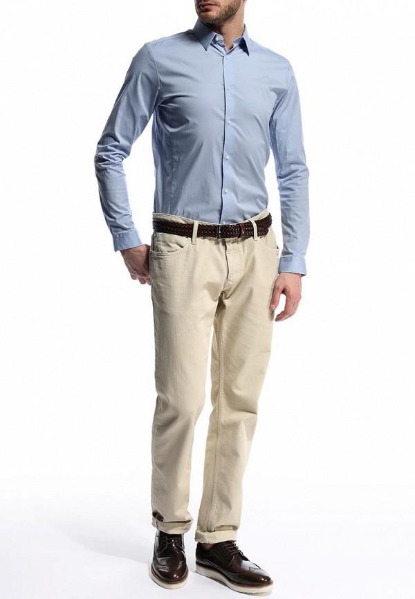 Рубашка с длинным рукавом Burton Menswear London 19B01GBLU: изображение 4