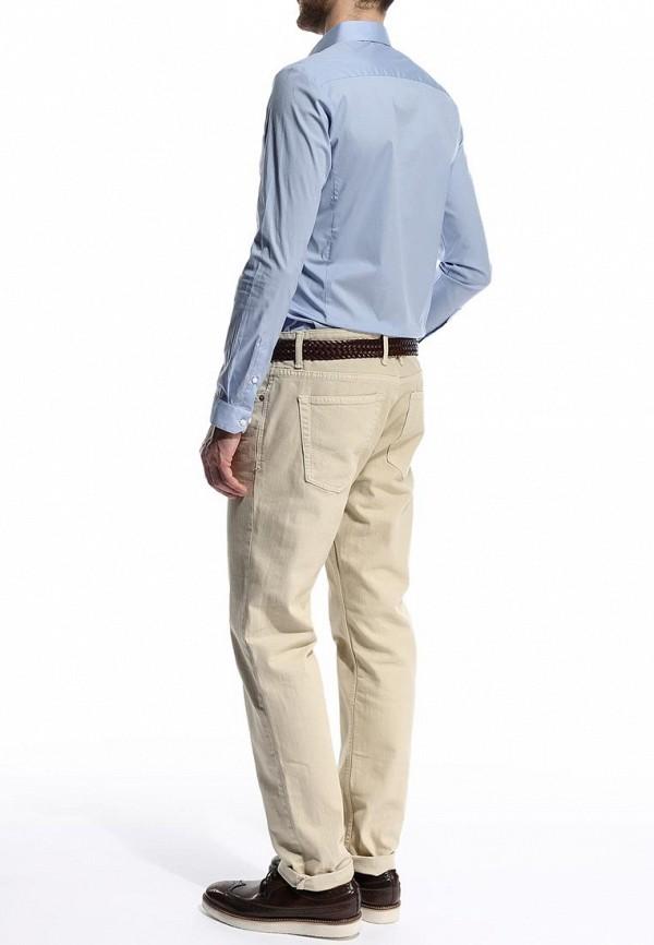 Рубашка с длинным рукавом Burton Menswear London 19B01GBLU: изображение 5