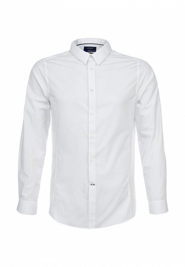 Рубашка с длинным рукавом Burton Menswear London 19B05FWHT: изображение 1