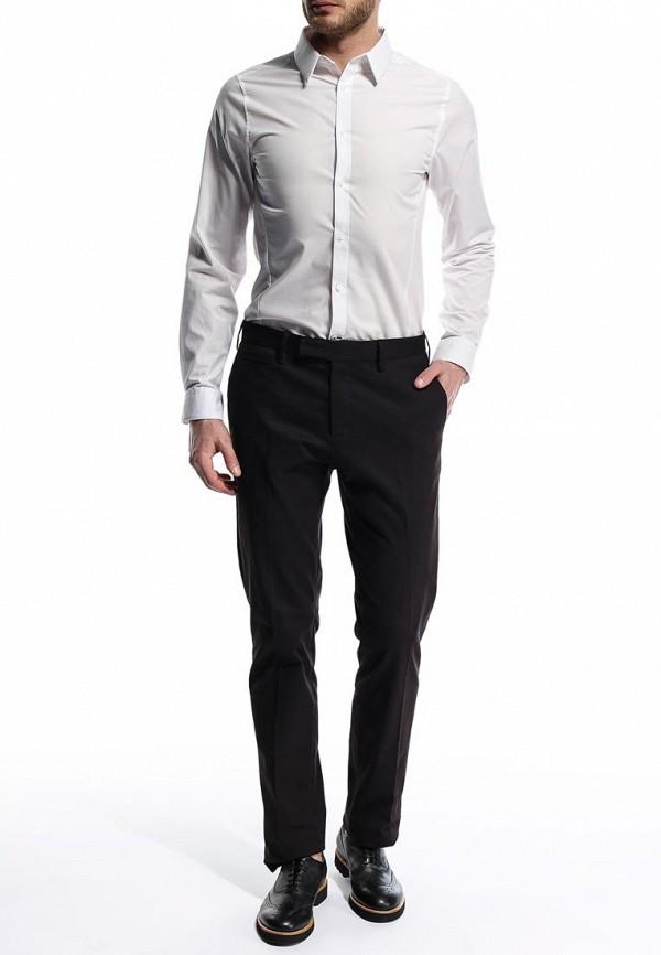 Рубашка с длинным рукавом Burton Menswear London 19B05FWHT: изображение 4