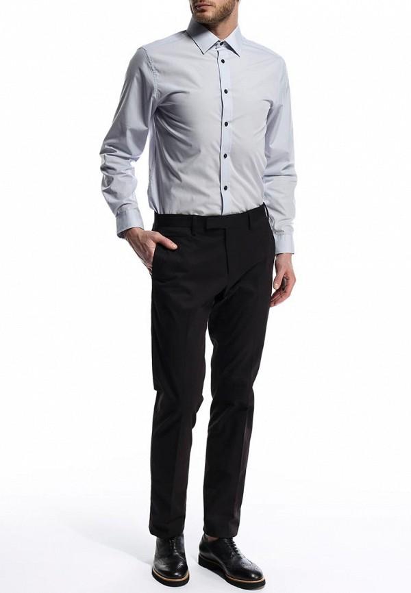 Рубашка с длинным рукавом Burton Menswear London 19B10FGRY: изображение 4