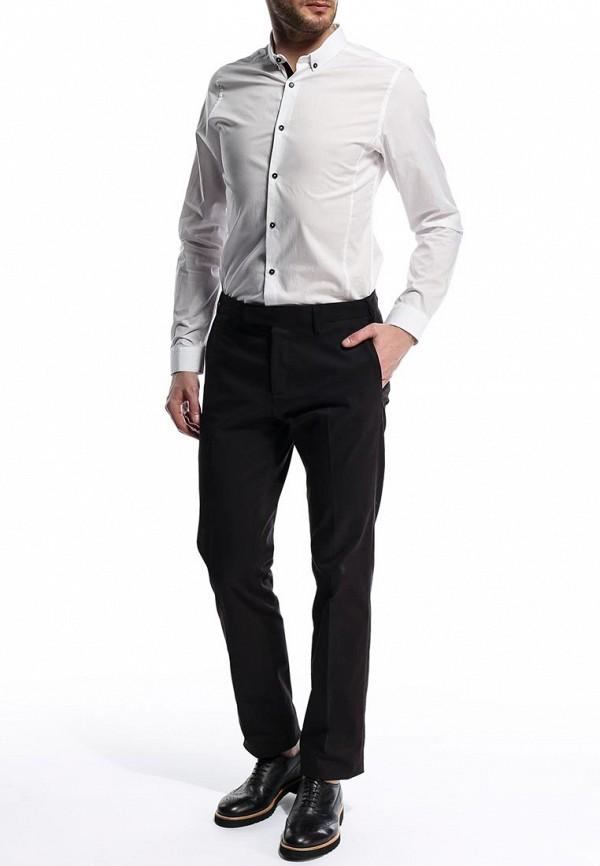 Рубашка с длинным рукавом Burton Menswear London 19F01FWHT: изображение 4