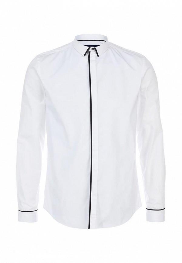 Рубашка с длинным рукавом Burton Menswear London 19F02FWHT: изображение 1