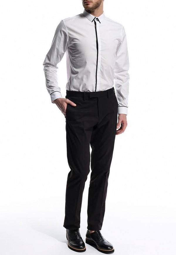 Рубашка с длинным рукавом Burton Menswear London 19F02FWHT: изображение 4