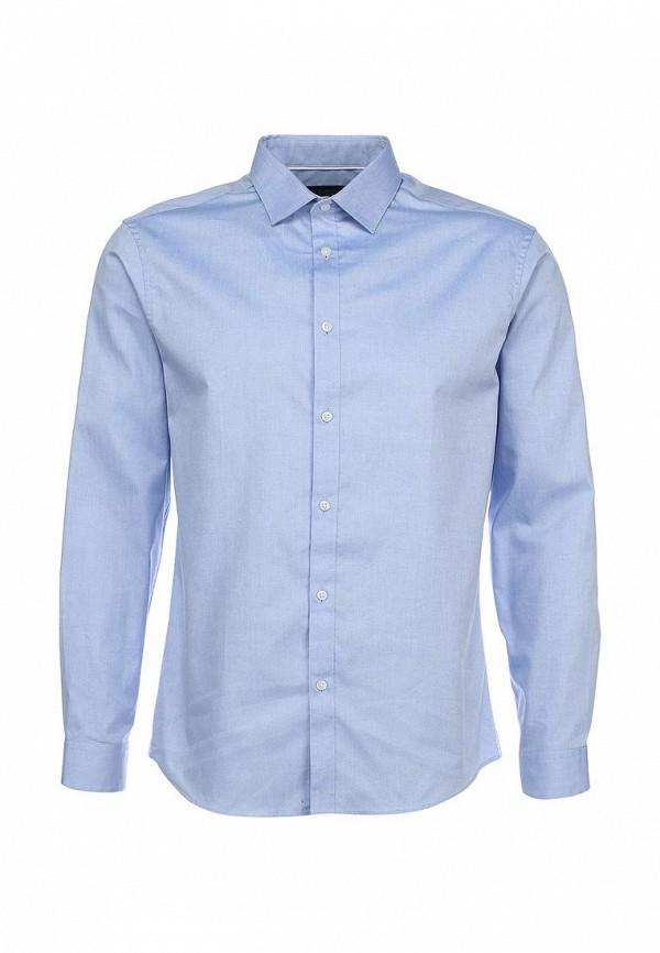 Рубашка с длинным рукавом Burton Menswear London 19P09FBLU: изображение 1
