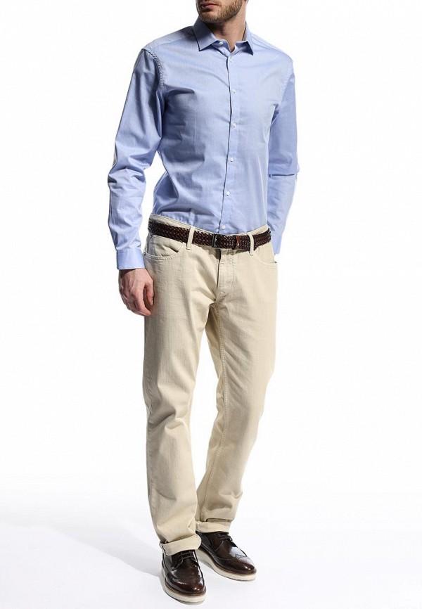 Рубашка с длинным рукавом Burton Menswear London 19P09FBLU: изображение 4