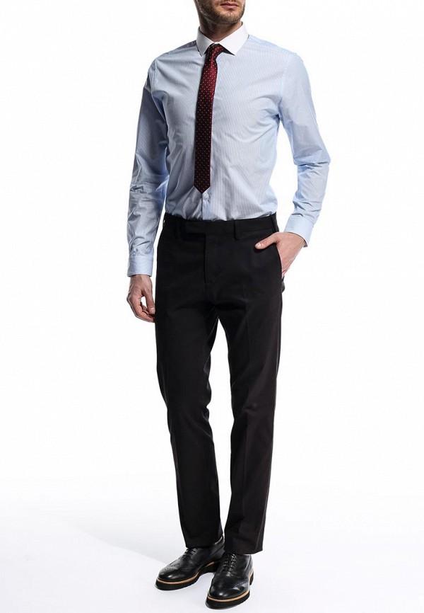 Рубашка с длинным рукавом Burton Menswear London 19S03FBLU: изображение 4