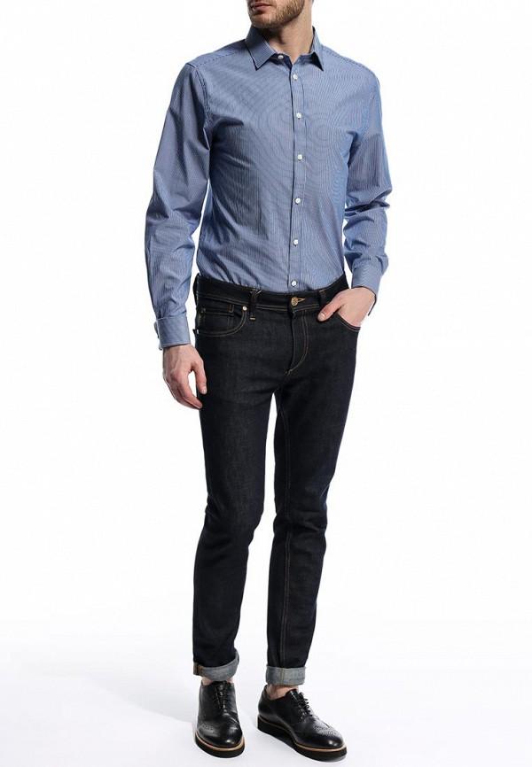 Рубашка с длинным рукавом Burton Menswear London 19T02FBLU: изображение 3