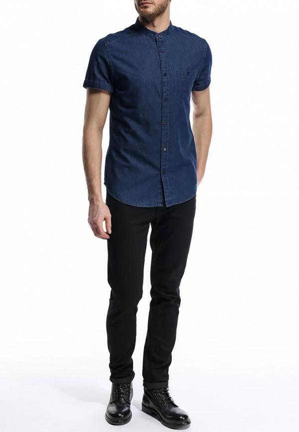Рубашка с коротким рукавом Burton Menswear London 22A04GBLU: изображение 3
