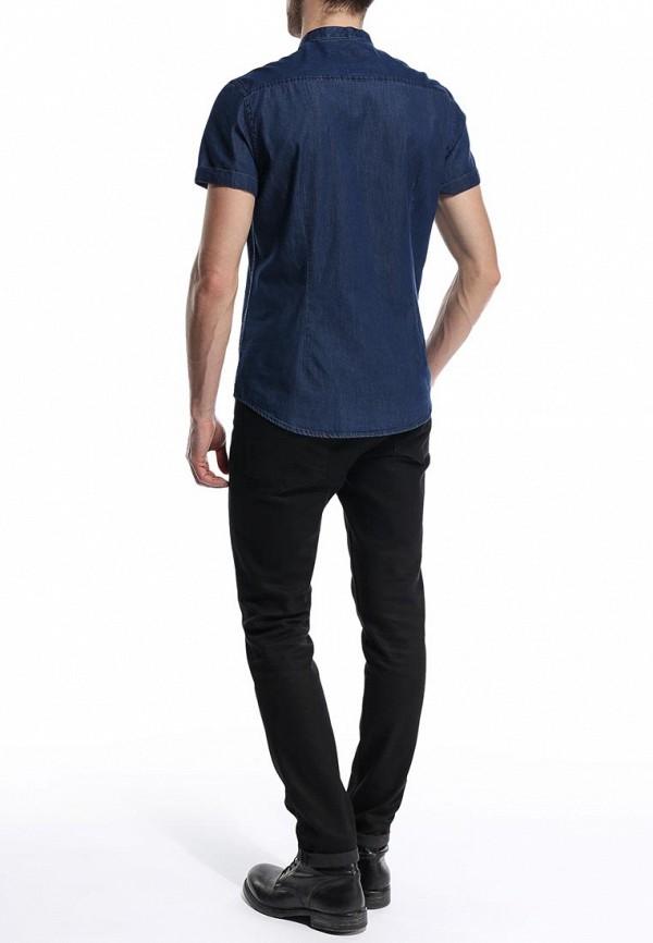 Рубашка с коротким рукавом Burton Menswear London 22A04GBLU: изображение 4