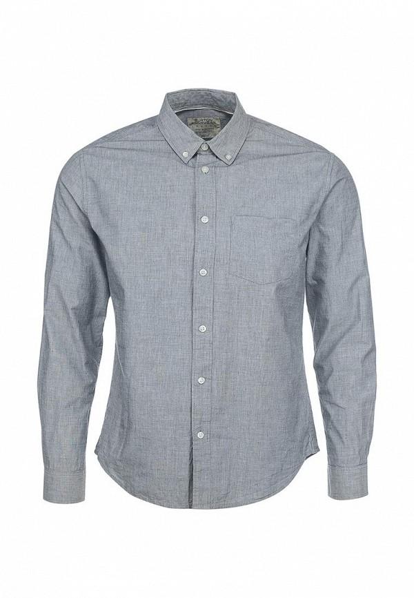 Рубашка с длинным рукавом Burton Menswear London 22C04GGRY: изображение 1