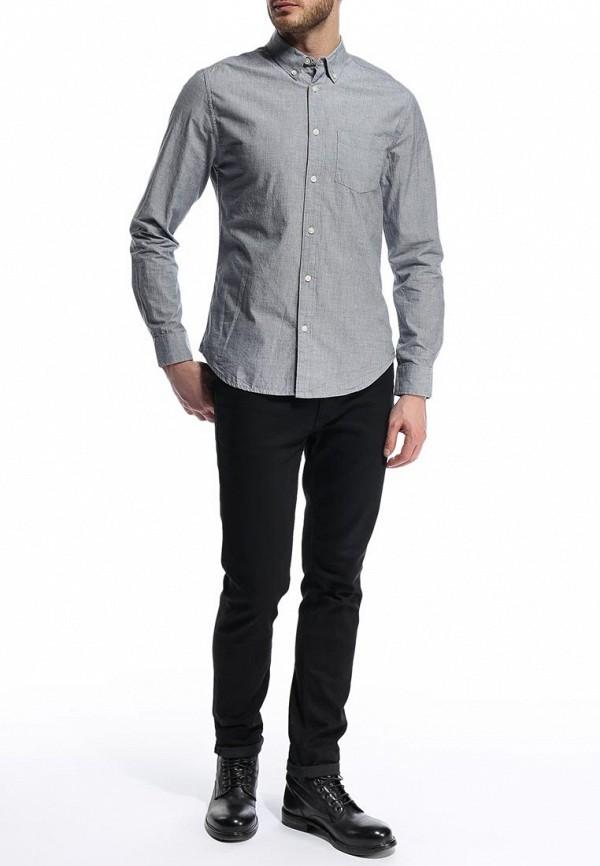 Рубашка с длинным рукавом Burton Menswear London 22C04GGRY: изображение 4