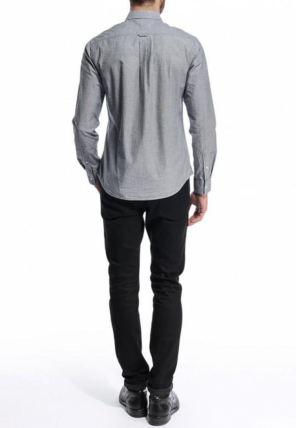 Рубашка с длинным рукавом Burton Menswear London 22C04GGRY: изображение 5