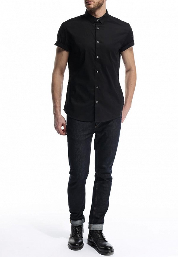 Рубашка с коротким рукавом Burton Menswear London 22D02FBLK: изображение 4