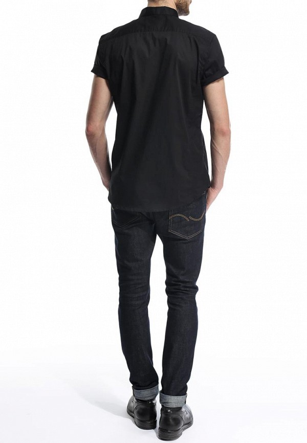 Рубашка с коротким рукавом Burton Menswear London 22D02FBLK: изображение 5