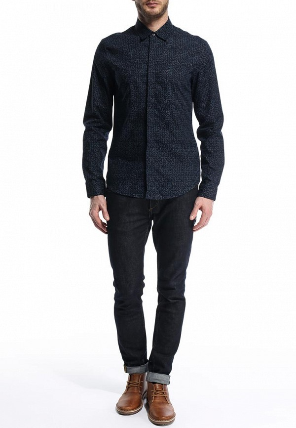 Рубашка с длинным рукавом Burton Menswear London 22D07GNVY: изображение 4