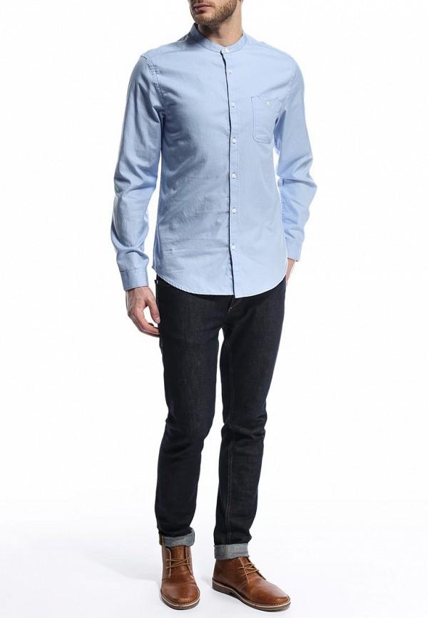 Рубашка с длинным рукавом Burton Menswear London 22D08GBLU: изображение 4