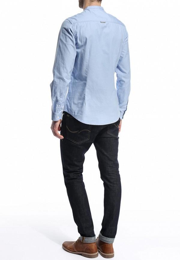 Рубашка с длинным рукавом Burton Menswear London 22D08GBLU: изображение 5
