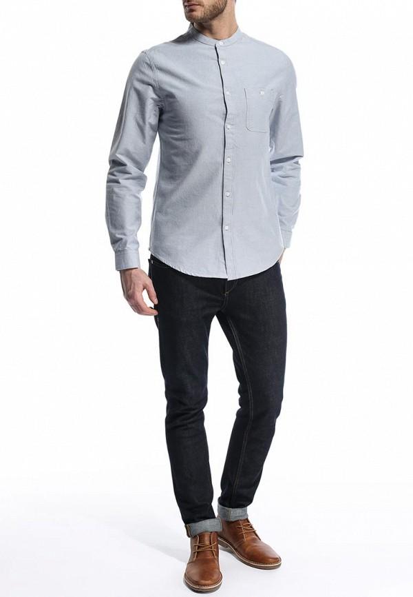Рубашка с длинным рукавом Burton Menswear London 22D08GGRY: изображение 4