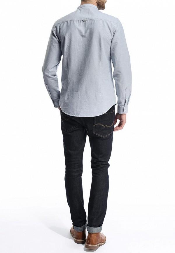 Рубашка с длинным рукавом Burton Menswear London 22D08GGRY: изображение 5
